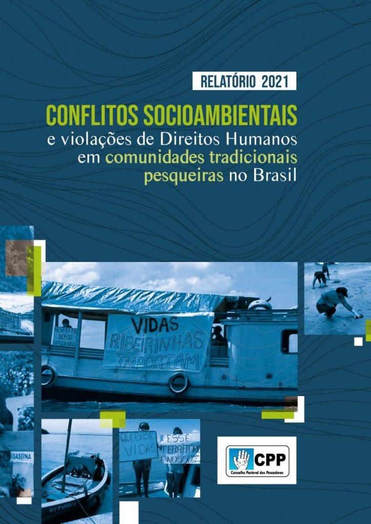 capa do relatório de conflitos socioambientais CPP
